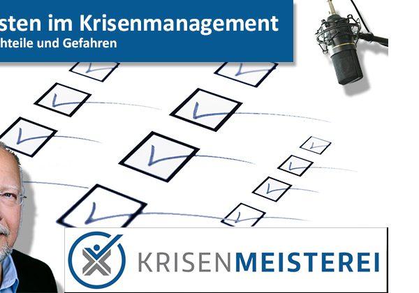 Episode 60: Checklisten im Krisenmanagement